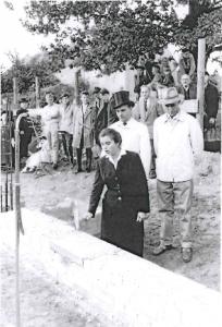 02. September 1960 - Grundsteinlegung Gemeindehaus Stegeweg